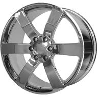 OE CREATIONS WHEELS<br> PR165 CHROME