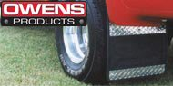Owens Diamond Tread Rubber <br>  Mud Flaps