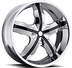 Platinum Wheels<br /> 211 Widow Chrome