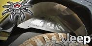 Poison Spyder <br>Rear Inner Fender Kit for 07-17 Jeep JK