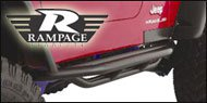 Rampage Jeep Nerf Bars and Rocker Guards