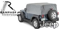 Rampage 4 Layer Jeep Covers