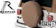 Rampage Jeep Spare Tire Covers