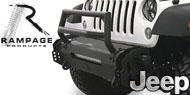 Rampage TrailRam Modular Jeep Bumpers