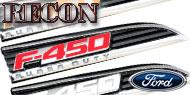 Recon F-450 E.L Illuminated<br />Fender Emblems