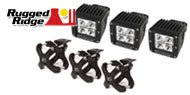 Rugged Ridge Jeep <br>X-Clamp and LED Light Kits