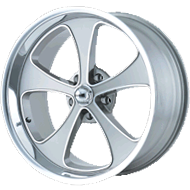 Ridler Wheels <br> 645 Grey/Machined <br>with Polished Lip