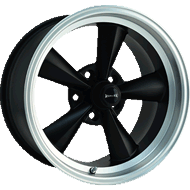 Ridler Wheels <br> 675 Matte Black Machined