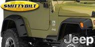 Smittybilt Jeep Fender Flares
