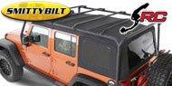 Smittybilt SRC Roof Rack <br>07-17 Jeep Wrangler JK