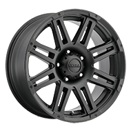 Ultra Wheels<br /> 226SB Machine Satin Black with Gloss Black Logo