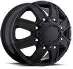 Ultra Wheels<br /> 024 Gauntlet Dually Matte Black