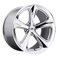 US MAG Wheels <br>U122 MILNER Chrome