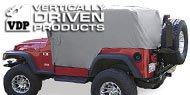 Vertically Driven Products <br>Full Monty Jeep Cab Cover