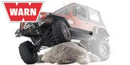Warn <br>Jeep TJ, YJ & CJ7 Rock Sliders