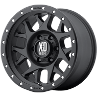 XD Wheels <br />XD127 Satin Black