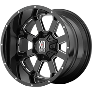 XD Wheels <br />XD825 Gloss Black Milled