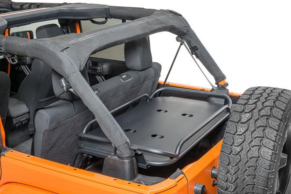 Rampage Rear Sport Interior Sport Rack For 07 15 Jeep Jk