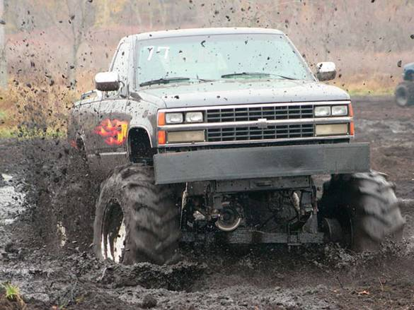 mudding tires are useful if you get the right ones