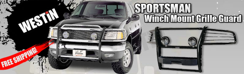 Westin Sportsman Winch Mounts Grille Guards