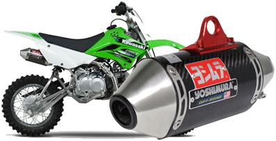 yoshimura exhausts kawasaki klx110 | 4wheelonline