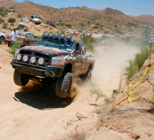 baja race view