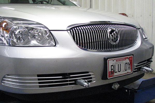 Blue Ox BX1504 Base Plate for Buick Park Avenue