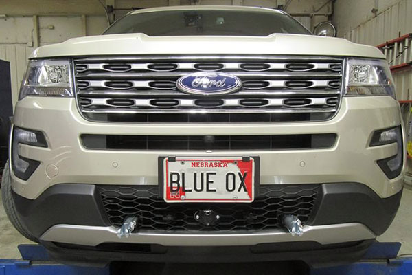 Blue Ox BX2632 Base Plate for Ford Explorer with Adaptive Cruise Control