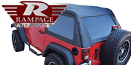 Rampage Door Surround Kit <br>07-15 Jeep Wrangler JK