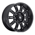LRG Wheels<br /> Apache 102 Satin Black