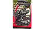 Rugged Ridge Front Tube Doors for 2007-2015 Jeep Wrangler JK