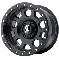 KMC XD126 Enduro Pro Satin Black Wheels