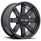 WORX Wheels Triton 806 <br/>Satin Black