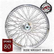19x2.15 Single Disc Front Wheel 80 Spoke
