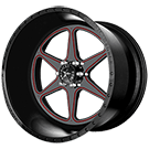American Force Wheels<br /> MASTER FP6 Black