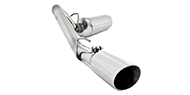 MBRP XP Series T-409 Stainless Steel Cat Back Exhaust System for 2000-2006 Jeep Wrangler TJ
