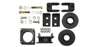 2011-2015 Explorer 4x2 & 4x4 <br />Traxda Ford Front & Rear Leveling Kit