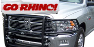 Go Rhino 3000 Series StepGuard <br>w/ Brush Guards - Black