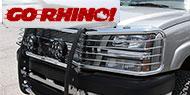 Go Rhino 3000 Series StepGuard <br>w/ Brush Guards - Chrome