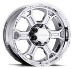 V-TEC Wheels Raptor Chrome