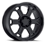 V-TEC Wheels Raptor Matte Black