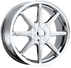 Vision Wheels <br>Kryptonite Chrome