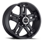 V-TEC Wheels Warlord 394 Matte Black