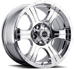 V-TEC Wheels Assassin 396 Chrome