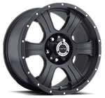 V-TEC Wheels Assassin 396 Matte Black