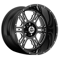 Vision Offroad Rage 397 <br />Gloss Black Milled Machined