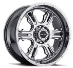 V-TEC Wheels Rage 397 <br />Phantom Chrome