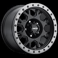 Vision Wheels GV8 Invader </br>Matte Black Anthracite Lip