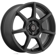 Focal Wheels<br /> 422 F007 Satin Black w/ Satin Clear-Coat