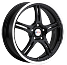 MSR Wheels <br>044 Black